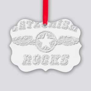 CATECHISM ROCKS Picture Ornament